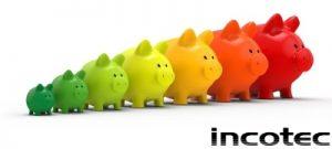 Piggy bank energy concept 3d render